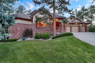 Castle Pines Single Family Home Under Contract: 1325 Forest Trails Drive