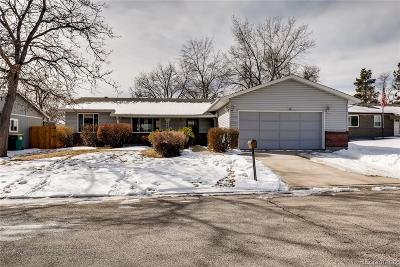 Arvada Single Family Home Under Contract: 6420 West 83rd Place
