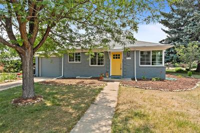 Denver Single Family Home Active: 1100 Ivanhoe Street