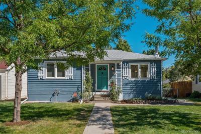 Denver Single Family Home Active: 2456 South Humboldt Street