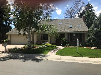 Centennial Single Family Home Under Contract: 3348 East Geddes Drive