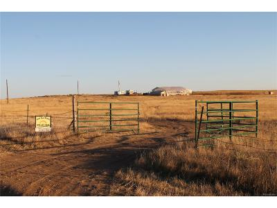 Deer Trail CO Residential Lots & Land Active: $160,000