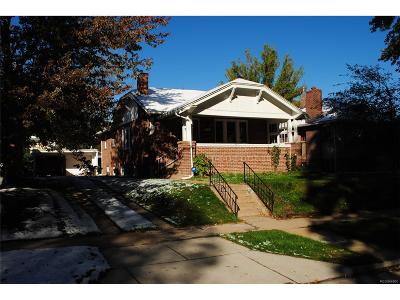 Denver Single Family Home Active: 2261 Glencoe Street