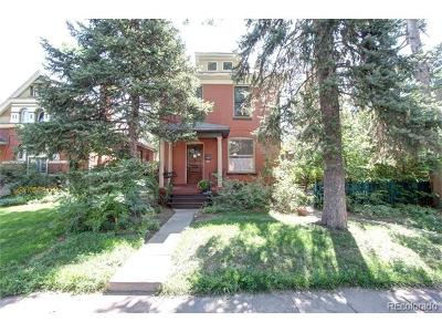 Denver Condo/Townhouse Active: 272 South Sherman Street