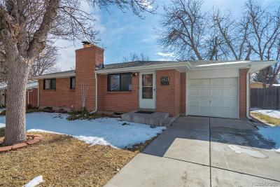 Littleton Single Family Home Under Contract: 3474 West Powers Avenue