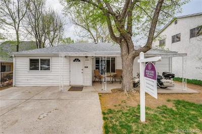 Edgewater Single Family Home Active: 2460 Eaton Street