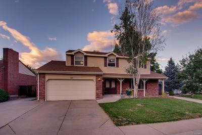 Arvada Single Family Home Under Contract: 9895 West 81st Avenue