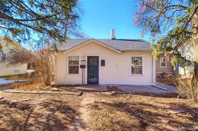 Denver Single Family Home Active: 1819 South Lafayette Street