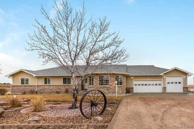 Brighton Single Family Home Under Contract: 15044 Overland Trail