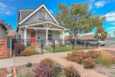 Denver Single Family Home Active: 473 Delaware Street