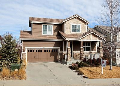 Castle Rock Single Family Home Active: 2805 Shadow Dance Drive