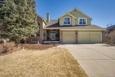 Highlands Ranch Single Family Home Under Contract: 8976 Green Meadows Court