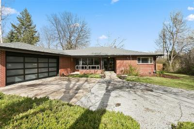 Denver Single Family Home Active: 280 South Jersey Street