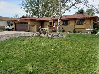 Greeley Single Family Home Active: 1739 28th Avenue