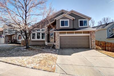 Centennial Single Family Home Under Contract: 5488 South Ceylon Way