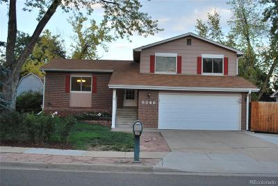 Arvada Single Family Home Active: 8348 Chase Drive