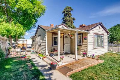 Denver Single Family Home Active: 571 South Stuart Street