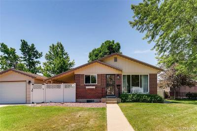 Northglenn Single Family Home Under Contract: 1222 Leroy Drive