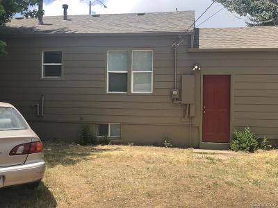 Arapahoe County Single Family Home Active: 1100 Dayton Street