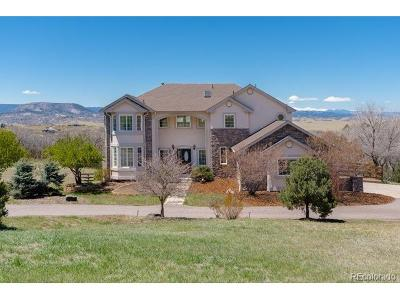 Castle Rock CO Single Family Home Active: $839,000