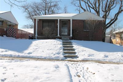 East Colfax, Montclair Single Family Home Active: 1311 Quince Street