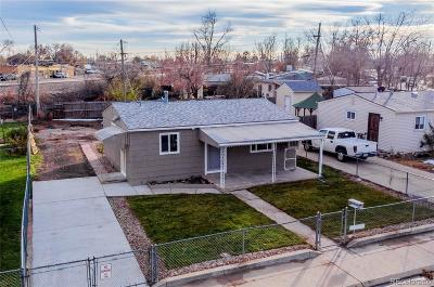 Commerce City Single Family Home Active: 6830 East 75th Place