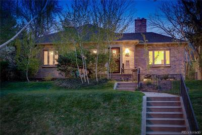 Denver Single Family Home Under Contract: 910 South Cove Way