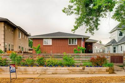 Denver Single Family Home Active: 3918 Perry Street
