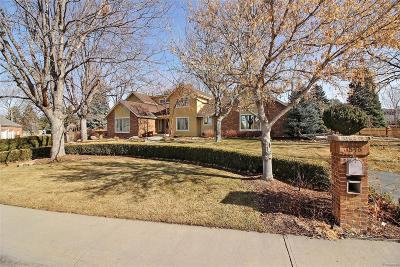 Greeley Single Family Home Under Contract: 1848 Homestead Road
