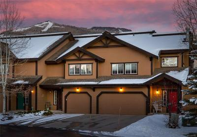 Steamboat Springs Condo/Townhouse Under Contract: 3388 Covey Circle