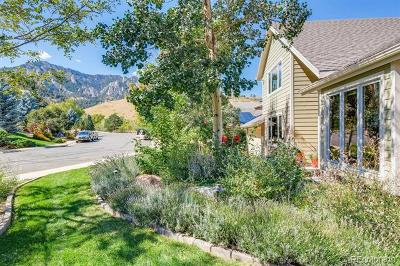 Boulder Single Family Home Active: 1965 Stony Hill Road