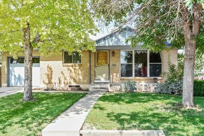 Northglenn Single Family Home Active: 469 East 109th Avenue