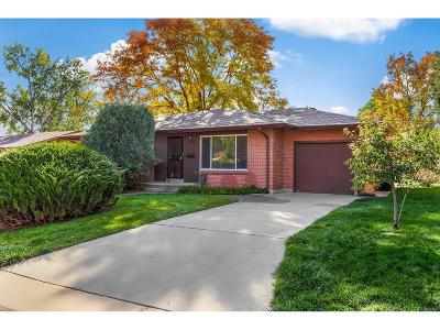 Denver Single Family Home Active: 3802 West Greenwood Place