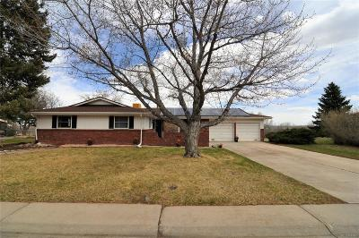 Littleton Single Family Home Under Contract: 5262 South Newton Street