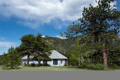 Estes Park Single Family Home Under Contract: 2330 Pine Meadow Drive
