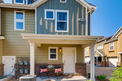 Commerce City Condo/Townhouse Under Contract: 11975 Riverstone Circle #9A