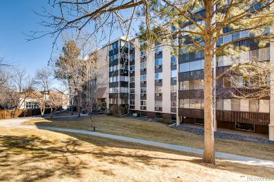 Condo/Townhouse Sold: 6960 East Girard Avenue #502