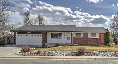 Arvada Single Family Home Under Contract: 10894 West 69th Avenue