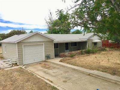 Commerce City Single Family Home Active: 5901 Oneida Street