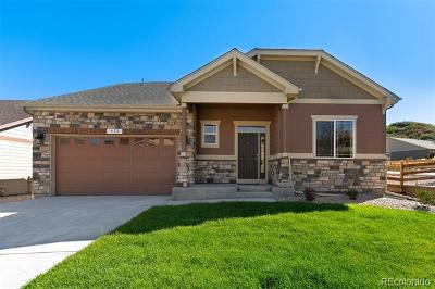Castle Rock Single Family Home Active: 412 Sage Grouse Circle