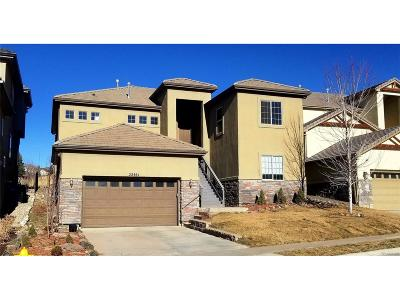 Aurora Single Family Home Active: 22461 East Peakview Drive