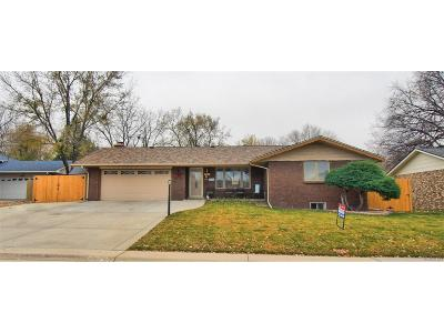 Wheat Ridge Single Family Home Active: 4474 Everett Drive
