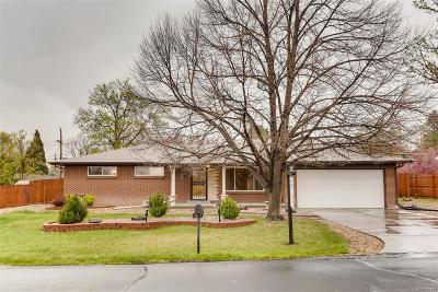 Wheat Ridge Single Family Home Under Contract: 3250 Nelson Street
