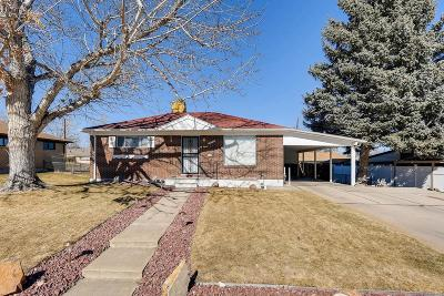Northglenn Single Family Home Under Contract: 1475 Lucille Court