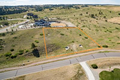 Parker Residential Lots & Land Under Contract: 9658 Sara Gulch Circle