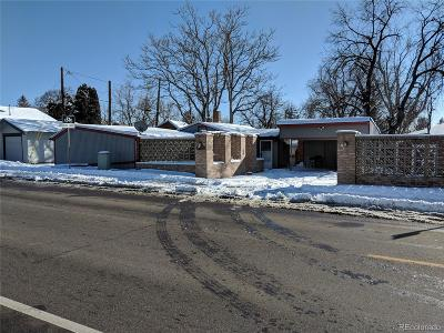 Wheat Ridge Single Family Home Under Contract: 5750 West 32nd Avenue