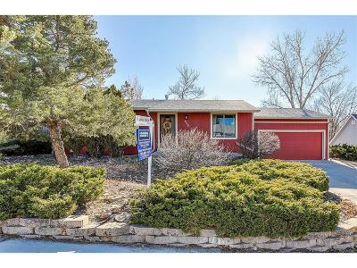 Castle Rock Single Family Home Under Contract: 808 Gigi Street