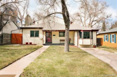 Denver Single Family Home Active: 2649 South Race Street