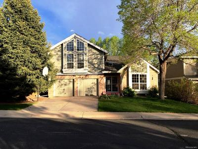 Littleton Single Family Home Under Contract: 7724 Gunsight Pass