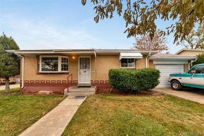 Commerce City Single Family Home Under Contract: 6120 Locust Street